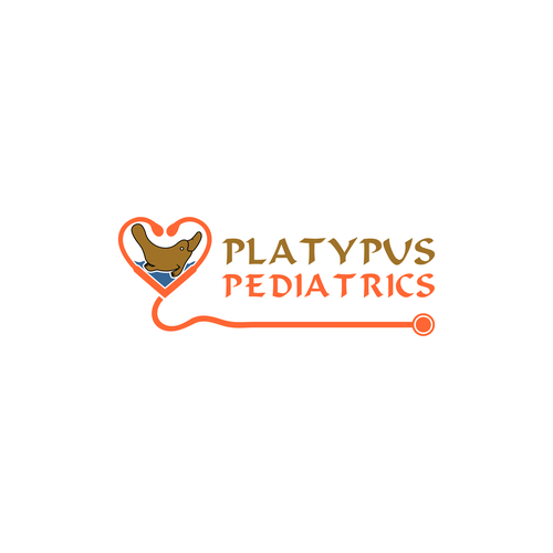 Platypus logo with the title 'Platypus Pediatrics'