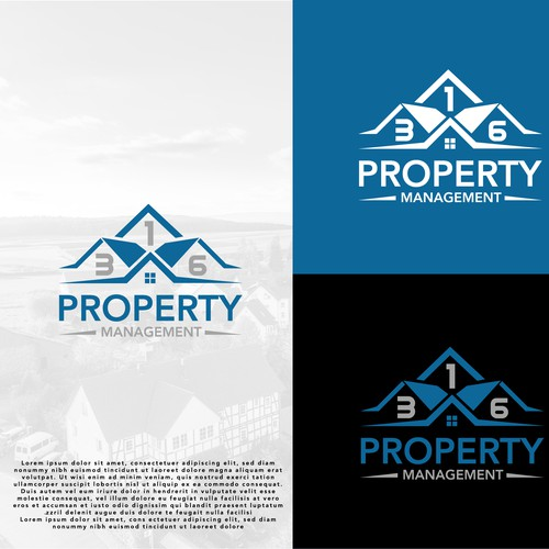 Property management logo with the title '316 Property Management'