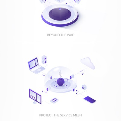 Illustrations for Technology company