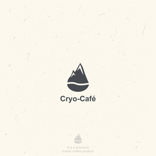 Combination logo with the title 'Cryo-Café - for SALE!'