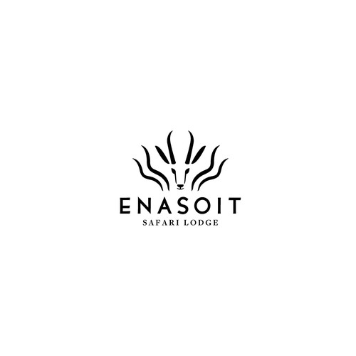 Country club logo with the title 'Enasoit Safari Lodge'