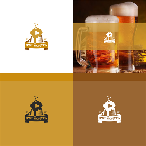 Channel logo with the title 'Craft Brewery TV'