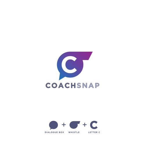 Coaching logo with the title 'Unused logo design for a coaches software.'