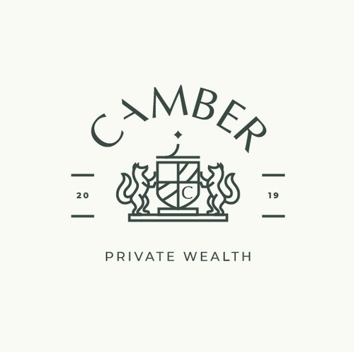 Coat of arms logo with the title 'Logo for CAMBER'