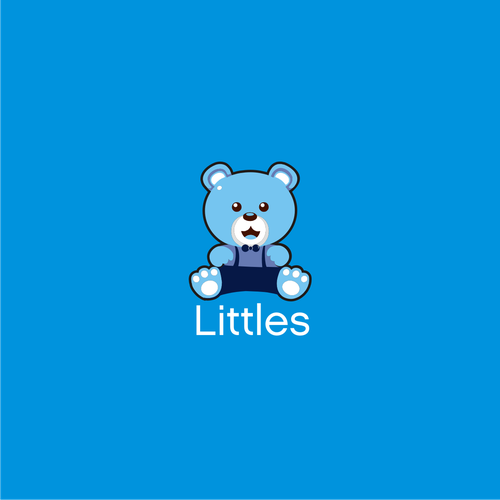 Teddy logo with the title 'Littles'