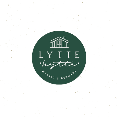 Wander logo with the title 'lytte hytte '