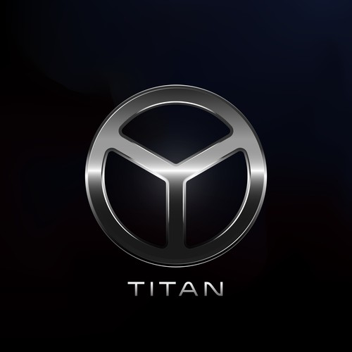 Titan design with the title 'Logo Concept Technology'