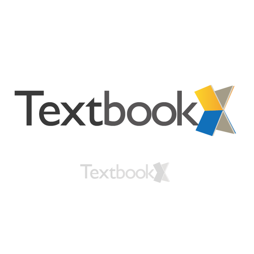 Library logo with the title 'Logo for Textbook Website'