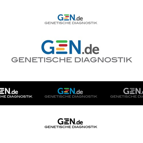 Genetics logo with the title 'logo for a german clinic specialized in diagnostic genetics '