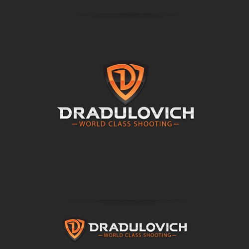 Clear design with the title 'DRadulovich Logo Design'
