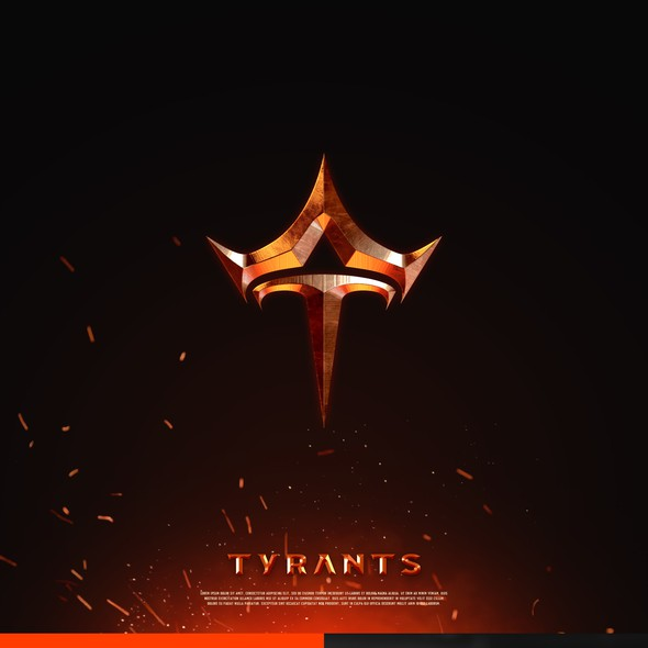 Crown design with the title 'Tyrants'