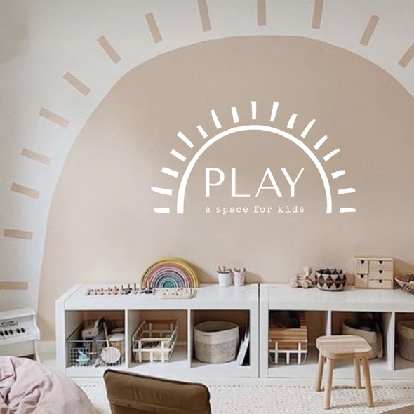 Children logo with the title 'Play, a space for kids'