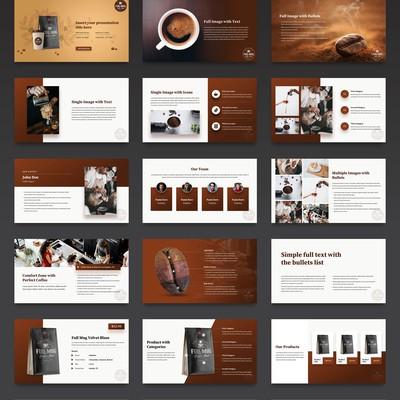 Coffee-Theme Powerpoint