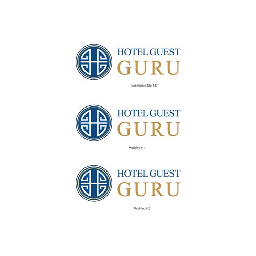 Motel logo with the title 'Hotel Guest GURU'