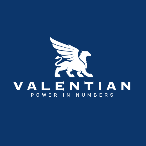Trust logo with the title 'Valentian Logo'