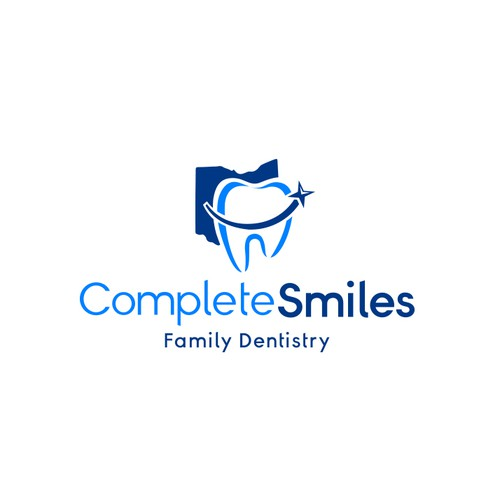 Orthodontist logo with the title 'Dentistry Logo'