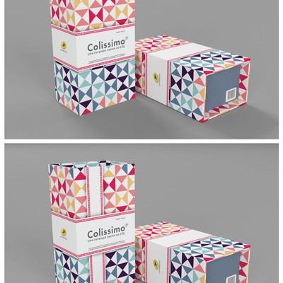 Create a limited edition of parcel box for the French Post and have your name+logo+email on it!!!