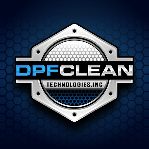 Pen tool logo with the title 'DPF Clean Technologies, Inc LOGO DESIGNS'