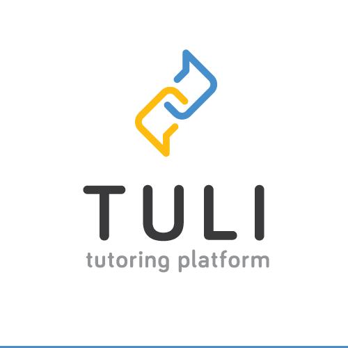 Link logo with the title 'Intelligent design for online tutoring platform'