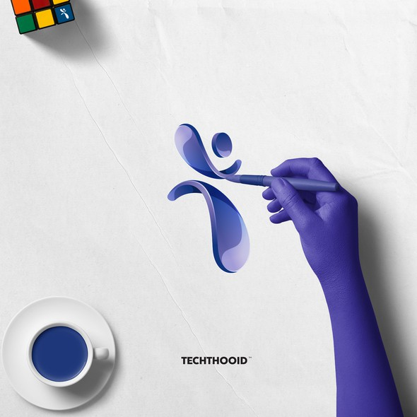 Motion brand with the title 'Human in leap motion '