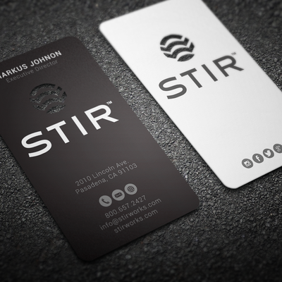 Business cards for STIR