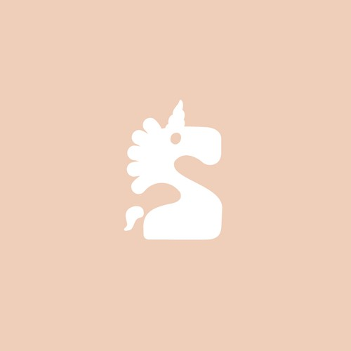 Museum logo with the title 'Playful logo for Unicorn-themed museum.'