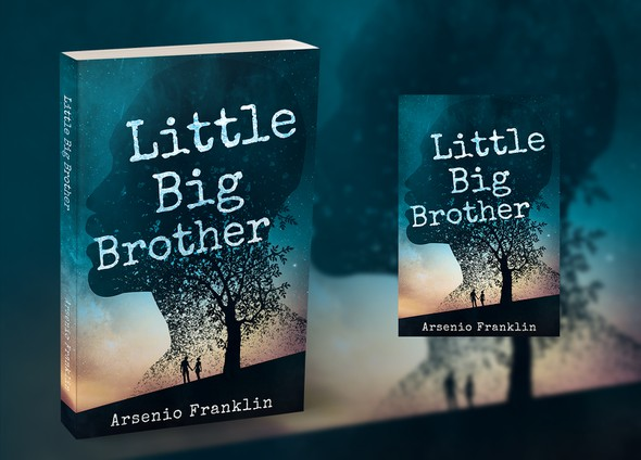 Paperback design with the title 'Little Big Brother'