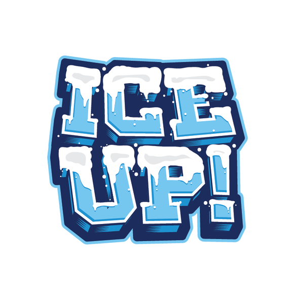 Snow t-shirt with the title 'Ice Up!'