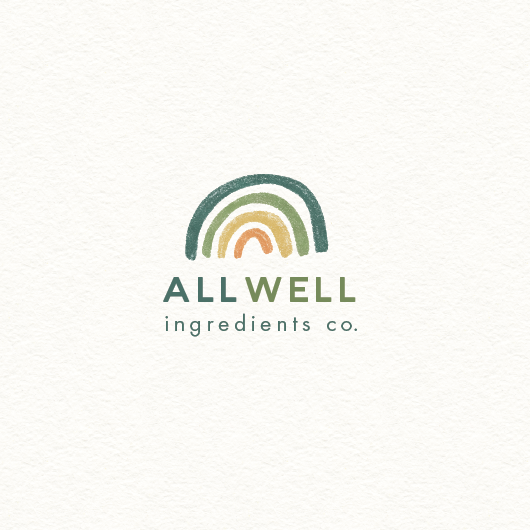 Infant design with the title 'Well ingredients co.'