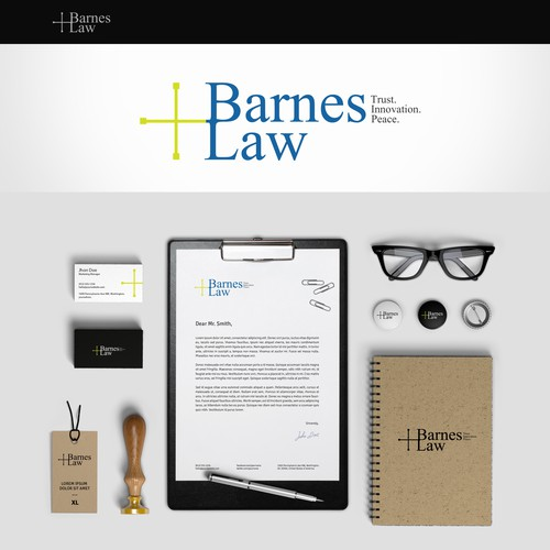 Trust logo with the title 'Logo for  Law Firm'