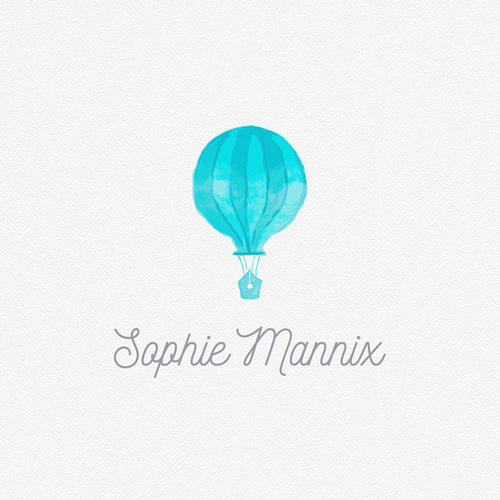 Balloon logo with the title 'Sophie Mannix'