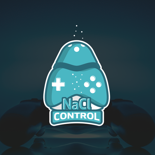 Salt logo with the title 'NaCl Control'