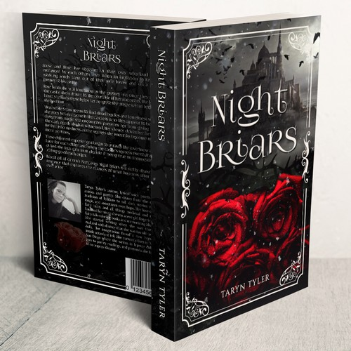 Gothic book cover with the title 'Night Briars'