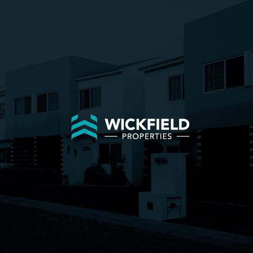 Sleek logo with the title 'Wickfield Properties'
