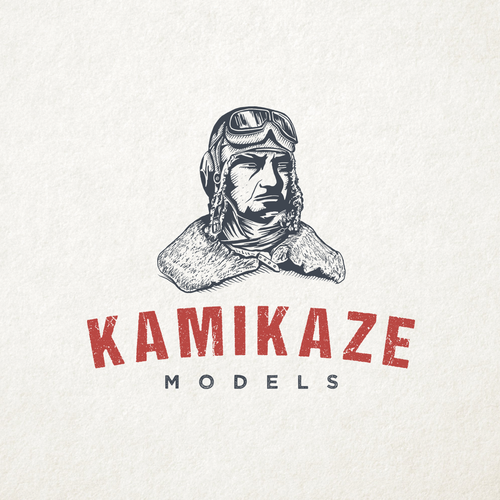 Death logo with the title 'Kamikaze Models'