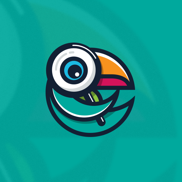 Toucan design with the title 'Buzzi Logo'