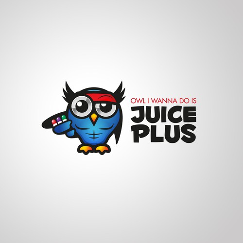 Pill logo with the title 'Juice Plus'
