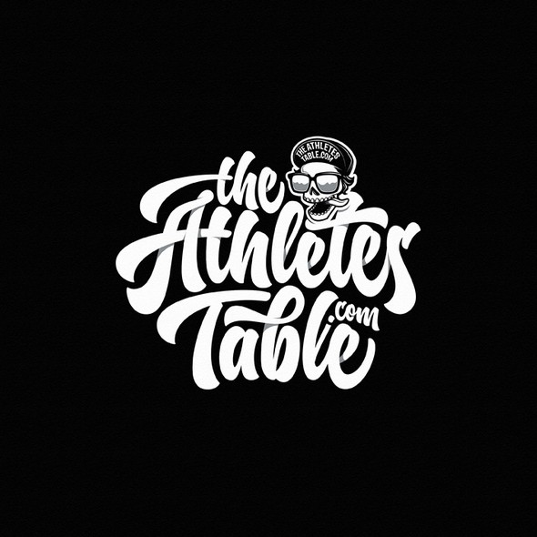 Athlete logo with the title 'The Athletes Table'