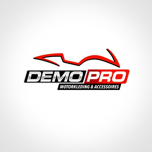Motocross design with the title 'Logo for a Dutch bikeshop.'