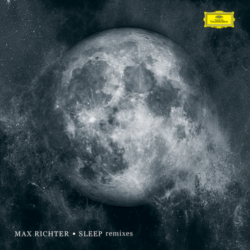 Cosmos design with the title 'Max richter album cover'