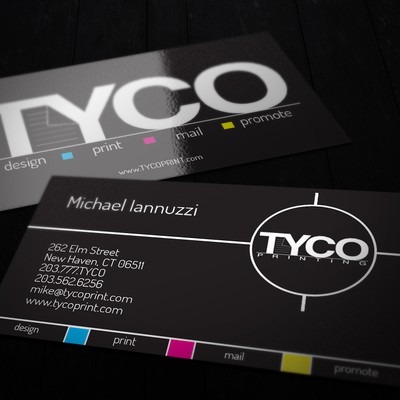 Business Card Design for Tyco Printing