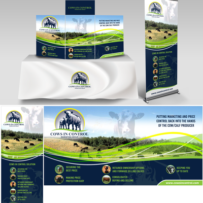 Trade Show Banner for Cows In Control