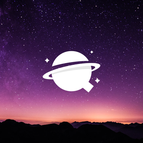 Constellation logo with the title 'Q + Planet 2'