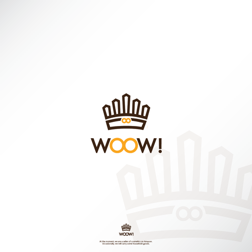 Wow logo with the title 'Crown for WOOW!'