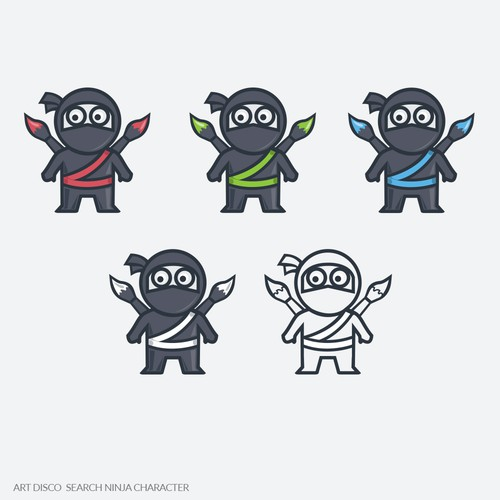 Quality logo with the title 'Art ninja'
