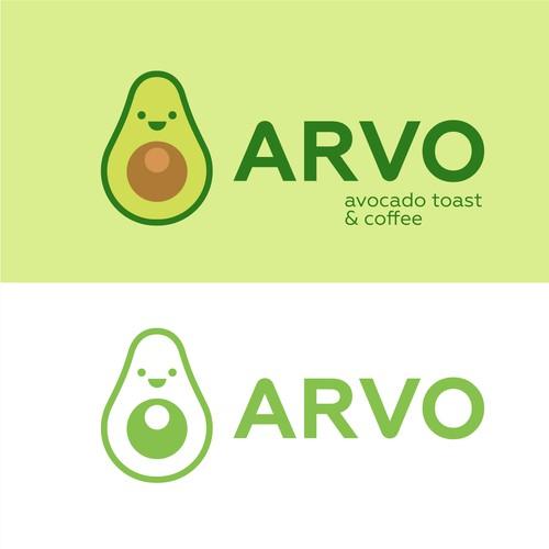 Avocado logo with the title 'Logo '