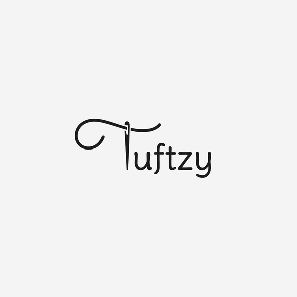 Thread design with the title 'Tuftzy'