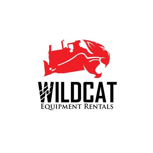Tractor logo with the title 'Winner Wildcat logo design'