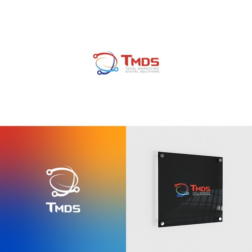 French design with the title 'Total group - Total Marketing Digital Solutions'