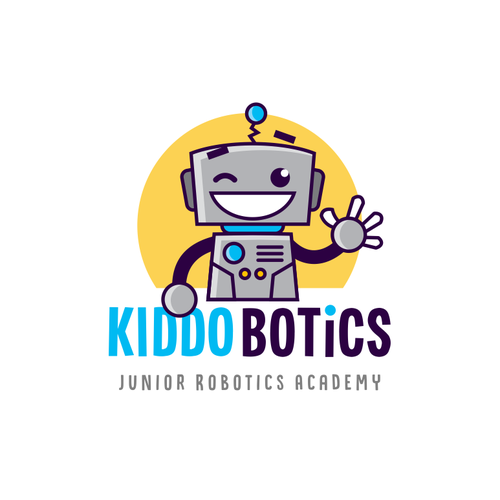 Character brand with the title 'Kiddobotics'
